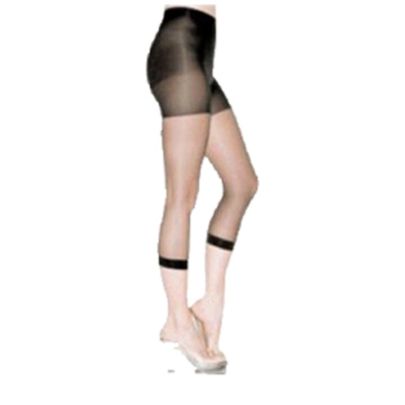 Control top footless pantyhose