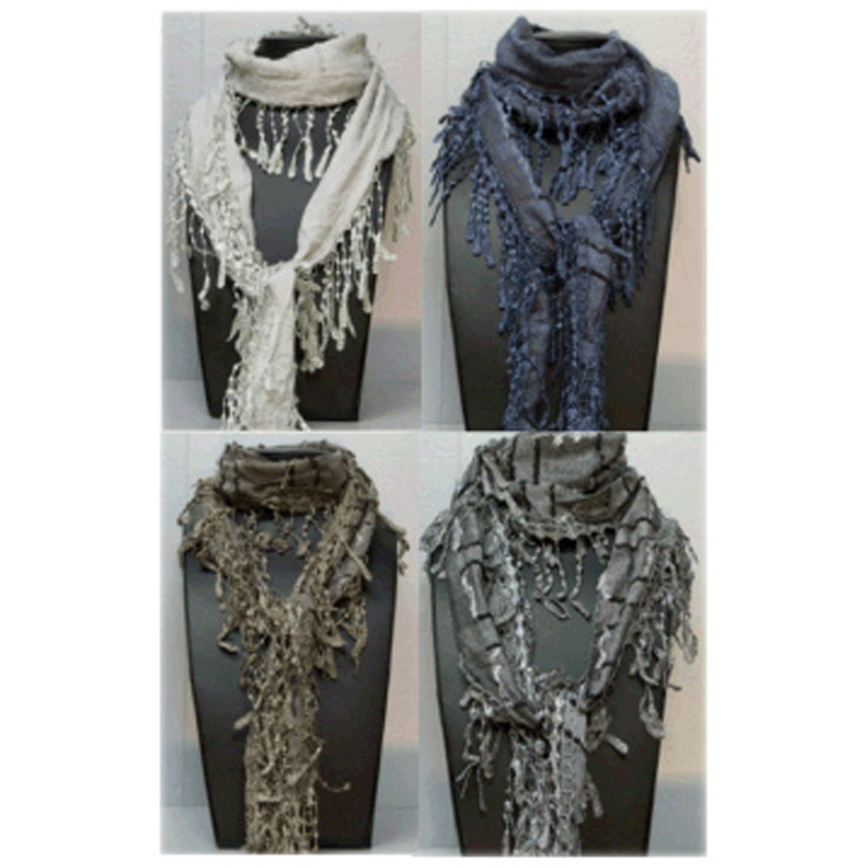 Crochet High Fashion Scarf from Accessory Angel  WWSM Fashion Scarves To Crochet
